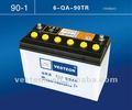 12v90ah a basso prezzo e di alta qualità di auto mf batteryns100