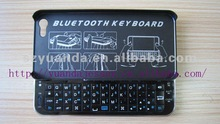 OEM Mini Sliding Wireless Bluetooth keyboard Cases for Apple iPhone5/iPhone/iPhone5G