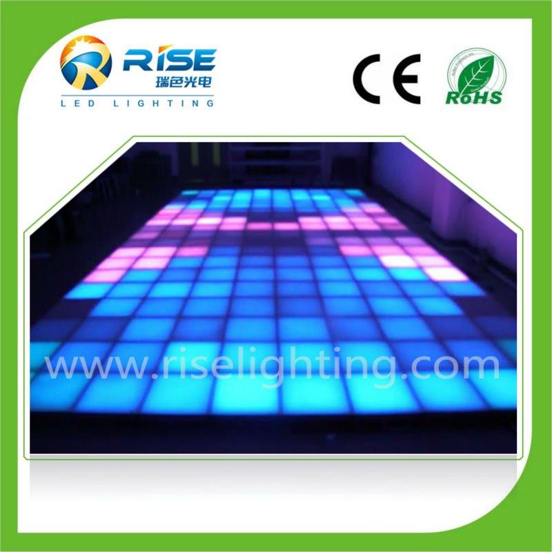 Light up floor tiles