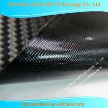 2012 new black decorative arts 3D fiber film with air bubble