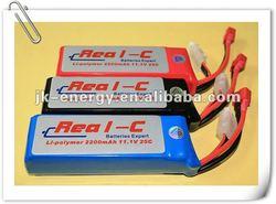 25C 11.1V 2200mAh RC battery