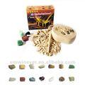 Ve keşfetmek kazı doğal kristal, kaya kiti oyuncakları