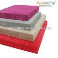 panelesfonoabsorbentes para el hogar o estudio de sonido de la decoración de la pared