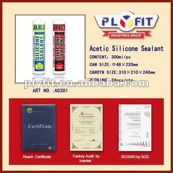 All Purpose Acetic Silicone Sealant 300ml