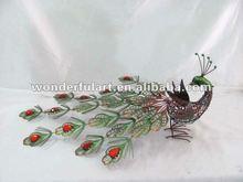 unique wholesale metal peacock decorative items
