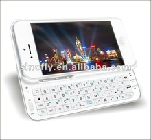 Mini Bluetooth keyboard case for Apple iPhone 5