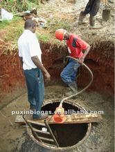 puxin 6m3 dimensione della famiglia biogas reattore anaerobico