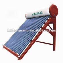 Non-pressurized Solar Hot Water System for Restaurant