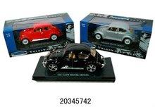 1:18 die-cast metal car model toys