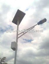 Energy saving solar post light wind power designs