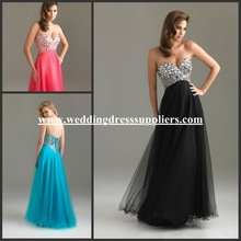 NTM-6411 Sexy Sweetheart Backless 2012 Bling Hot Long Cheap Prom Dress Gown