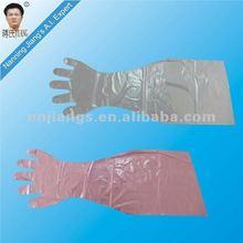 Jiangs plastic hand glove with long sleeve