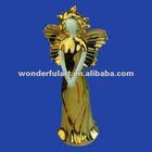 yellow ceramic beautiful famous fairy figurines