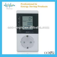 2012 intelligent USA plug energy meter clock to save your energy bills
