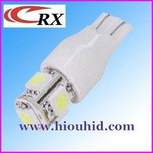 T10 5050 5SMD Flash Car LED Light Lamps Bulb 12V/24V