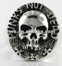2012 Fashion Skull Punk men's ring punk ring skull rings for men