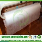 Perforated pp nonwoven fabric for massage tables
