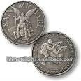 2012 Saint silver metal souvenir coin
