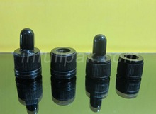 Black tip Dropper Cap for Essential Oil