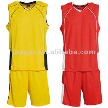 High quality custom basketball uniform design