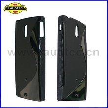 tpu gel case for sony xperia p lt22i s line tpu soft case