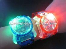 kid led flash watch/ cartoon led light up watch for kids