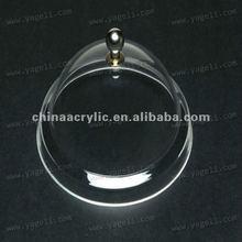 clear acrylic display dome