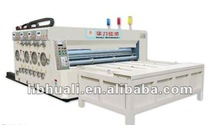 YMK cardboard printer / automatic high speed printing slotting die cutting machine for carton box / auto packing machine