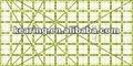 Para proyecto y corte, 6 * 12 pulgadas, No - slip gobernante patchwork rejilla, Para y acolchar coser # PRI0612