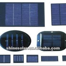epoxy resin encapsulated small solar panel / 3V Monocrystalline Epoxy Solar Panel