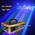 RGB SD programmable laser lights