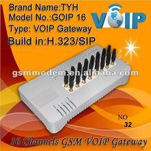 GOIP 16 GSM gateway, goip gsm gateway 16 sim/optical communication equipment