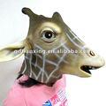Jirafa de látex máscara, máscara de realista, venado máscara
