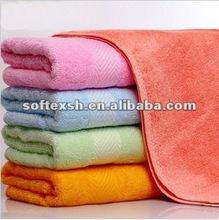 bamboo fabric plain wholesale bath towel