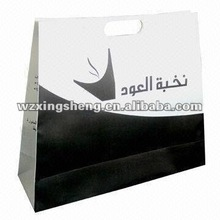 free sample high quality promotion paper gift shopping bag promotion paper sacks for clothing