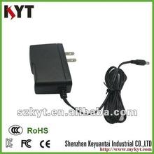 12V1A ac dc power adaptor with plastic case for CCTV camera