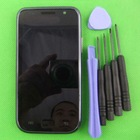 100% ORIGINAL For Samsung Galaxy S I9000 + Frame Black LCD Display and Touch Screen Digitizer assembly