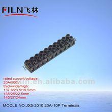 JX5-2010 screw connector 12v terminal block