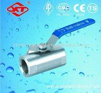 Carbon Steel/WCB/SS 1PC 2PC ball valve
