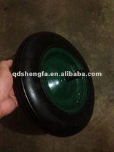 Wheel barrow solid rubber wheel 350-8