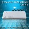 GSM GATEWAY 8 channel voip goip gateway/gsm 8ports/asterisk pstn gateway