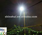 12V 25W led solar garden light with stainless steel material