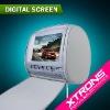 "9"" Zip Cover IR/FM/MP3/MP4 Headrest DVD Player With Pair Free Wireless IR Headphones"