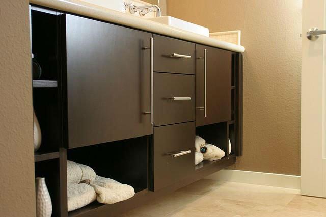 Muebles De Baño Flotantes:Flotante mueble de baño para el Hotel uso