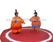 2012 Cheapest inflatable sumo suit for kids and adults