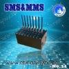 8 ports bulk SMS Modem support SMS Caster/Kannel ,4 port voip gsm gateway
