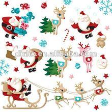 2012 self adhensive foil Christmas label