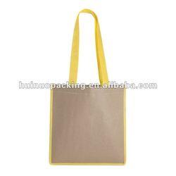 Promotional shoulder shopping bag non woven