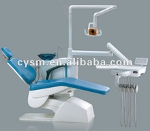 Dental Chair Unit With LED Lamp Light And Scaler