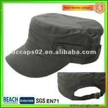 2012 new fashion cotton military style cap Shenzhen MC-1292